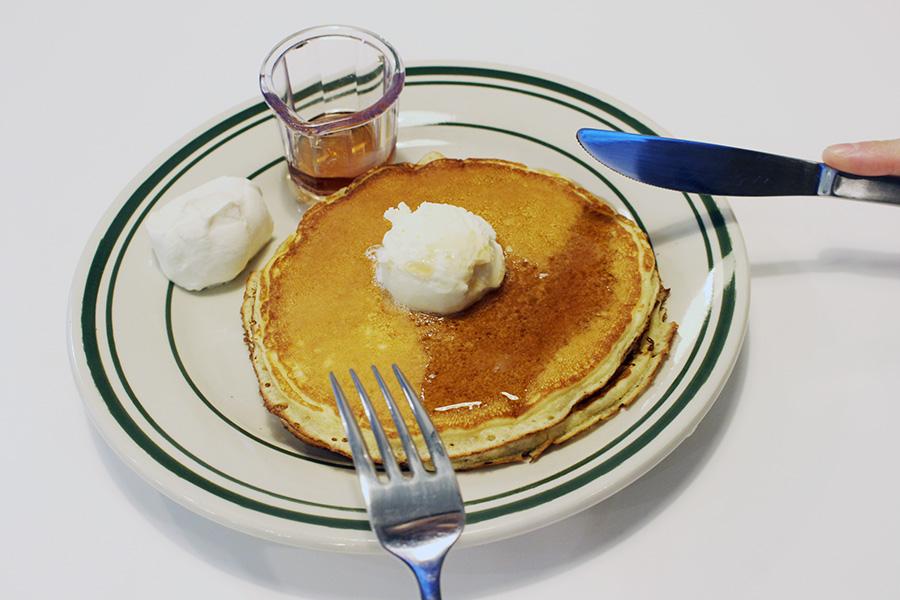 NUTTY'S CAFF 「バターミルクパンケーキ」