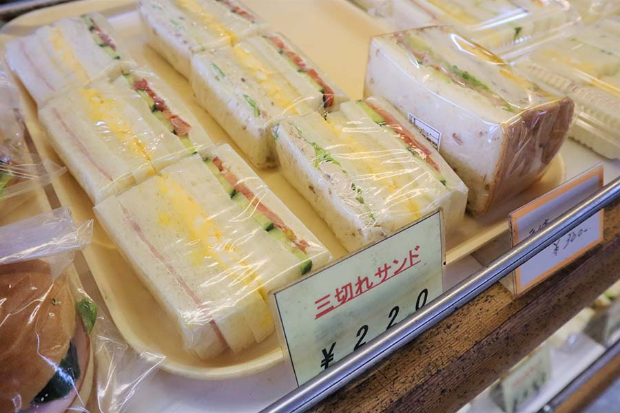サンドウィッチパーラーまつむら_サンドイッチ
