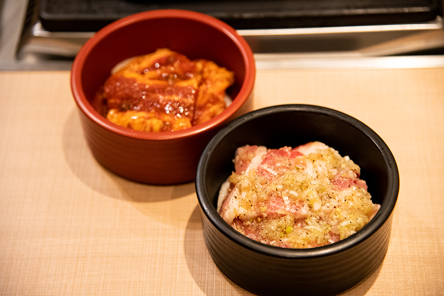 トノサマカルビ 極味 秘伝たれ 熟成カルビ定食