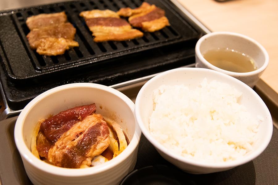 トノサマカルビ 定食