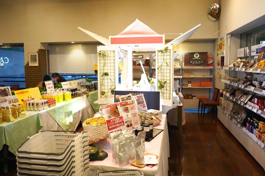 カフェ&マーケットCORE工場直売コーナー