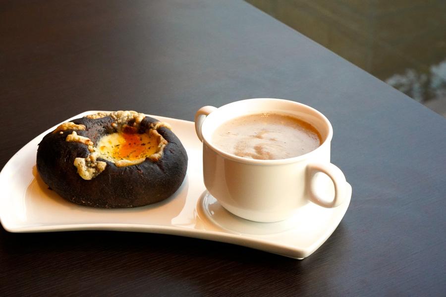 カフェ&マーケットCOREシイタケのポタージュ