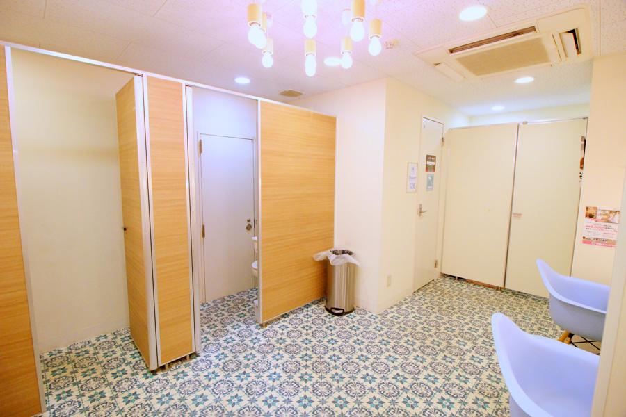 自遊空間NEXT 五反田東口店パウダールーム