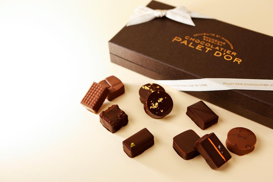 CHOCOLATIER PALET D'OR