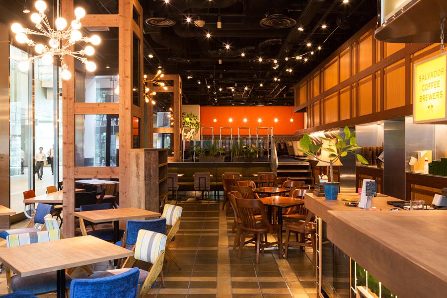 Marunouchi Café×WIRED CAFE