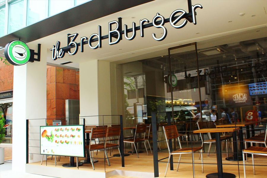 the 3rd Burger 青山骨董通り店 外観