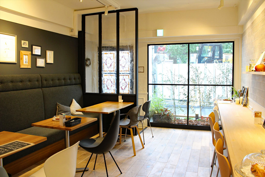 Cafe Sucre AOYAMA外観