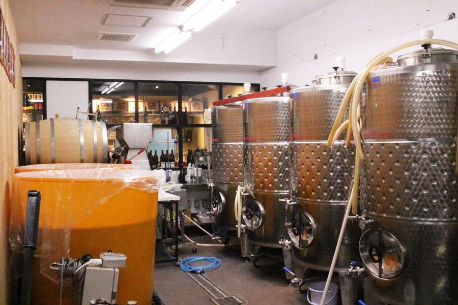 深川ワイナリー東京醸造所