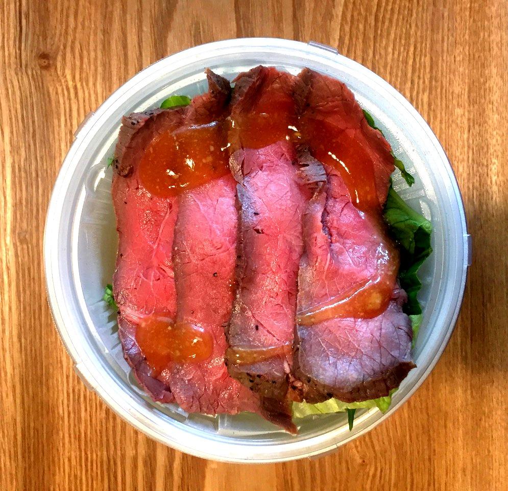 サラダデリマルゴローストビーフ丼