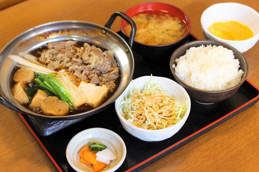 金太郎牛鍋定食