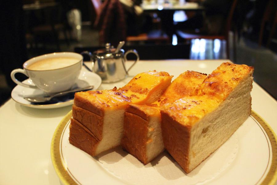 丸福珈琲店 ヨドバシAKIBA店チーズトースト