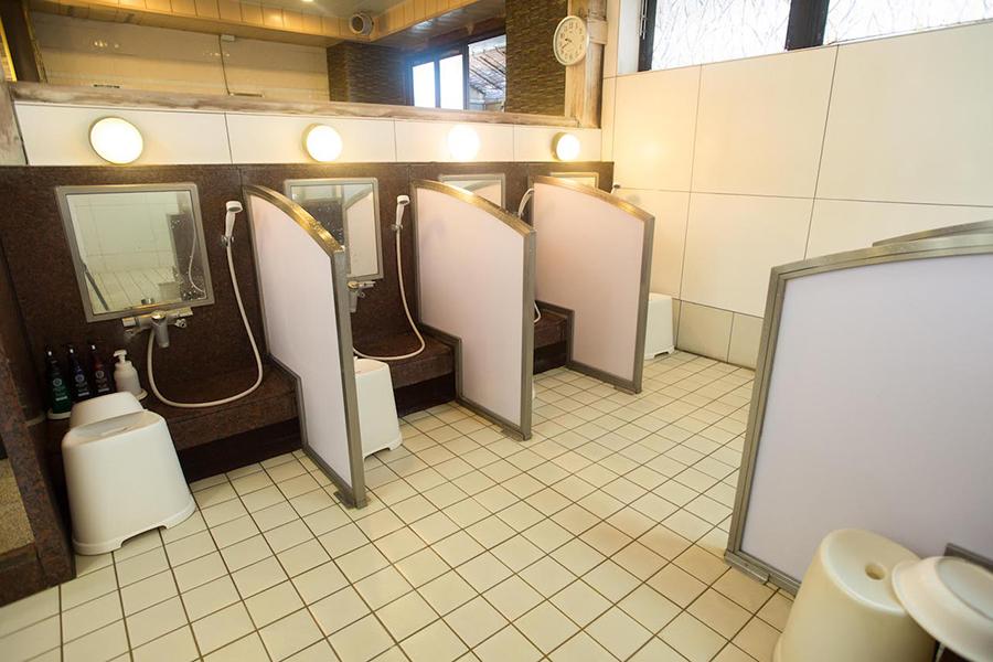 なごみの湯 洗い場