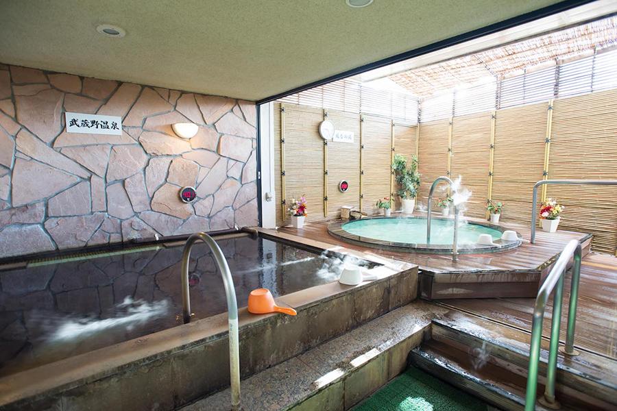なごみの湯 露天風呂