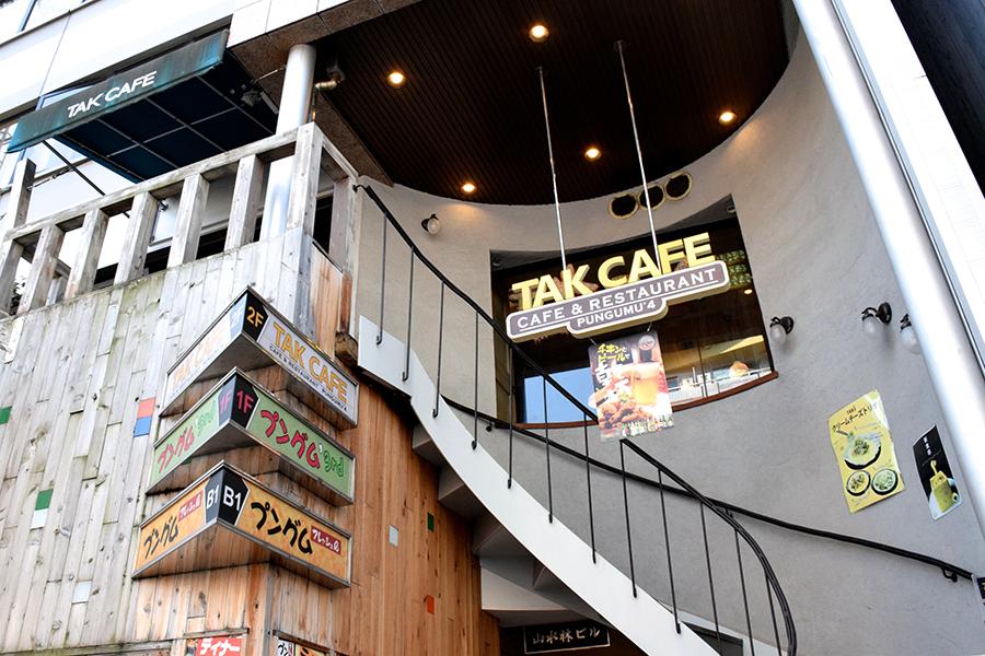 TAK CAFE外観