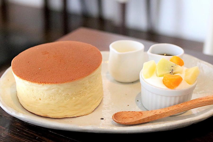 カフェサロン ソンジン SONJINホットケーキ