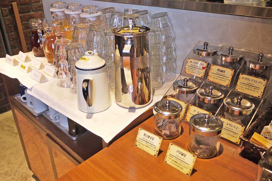 SUZU CAFE 六本木 ドリンクコーナー