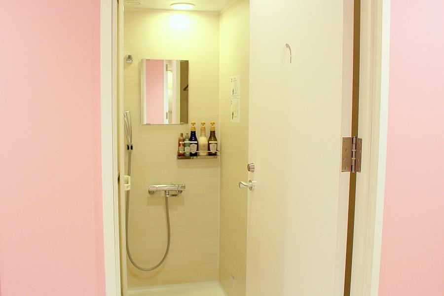 秋葉原BAY HOTEL シャワールーム