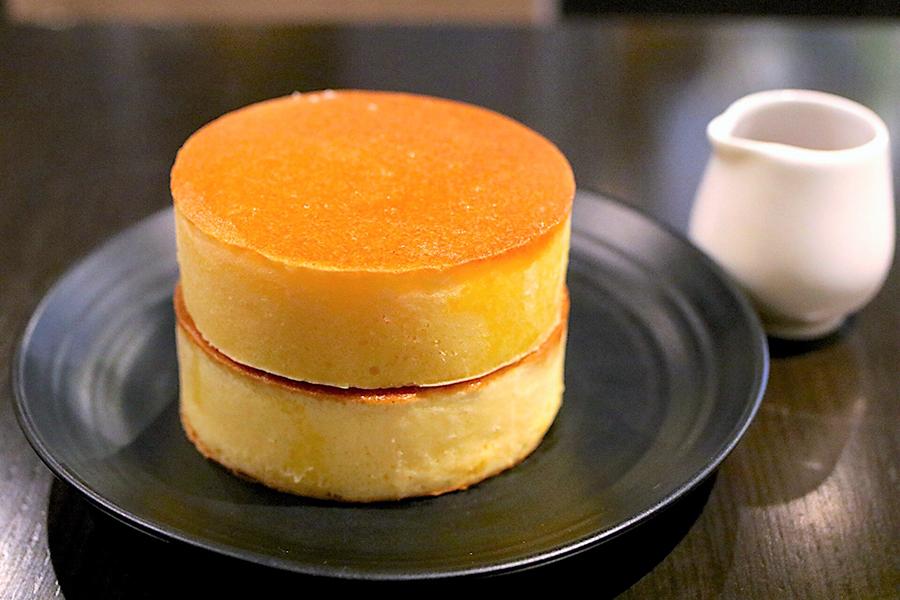 自家焙煎珈琲 みじんこ ホットケーキ