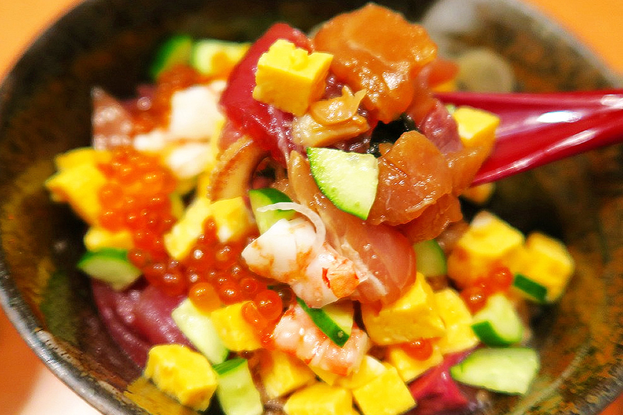 石島 海鮮丼ランチ