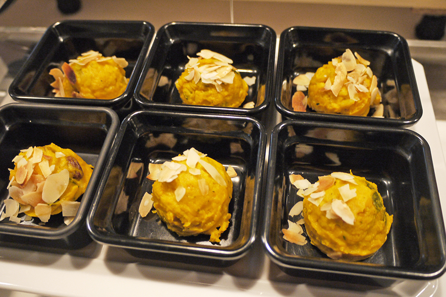 ボンサルーテ・カフェ かぼちゃのサラダ