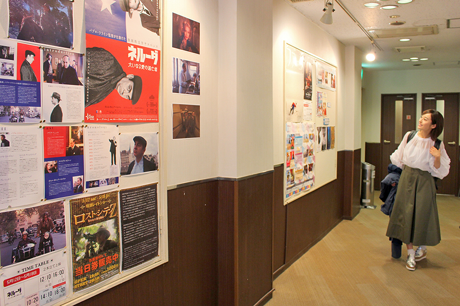 早稲田松竹劇場 ポスターや資料