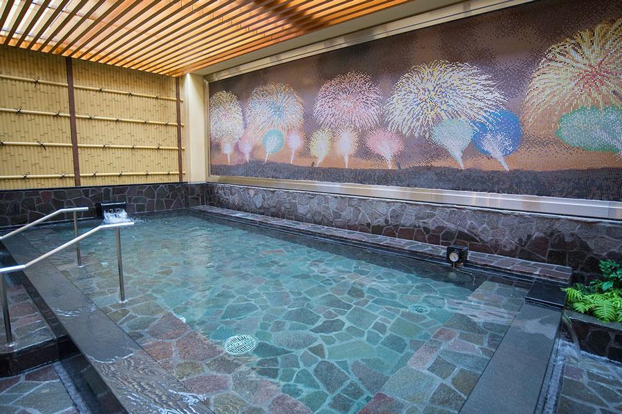 新宿天然温泉 テルマー湯 お風呂