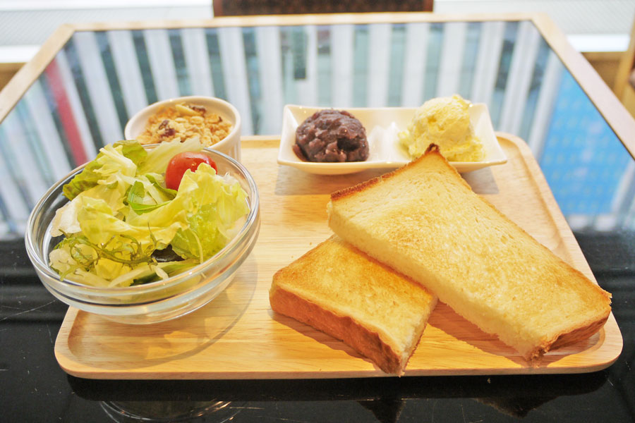 木村家小倉トーストセット