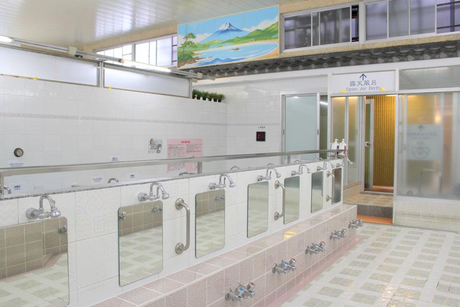 栄湯 湯どんぶり 大浴場