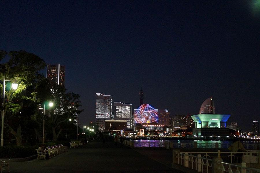 山下公園 夜景