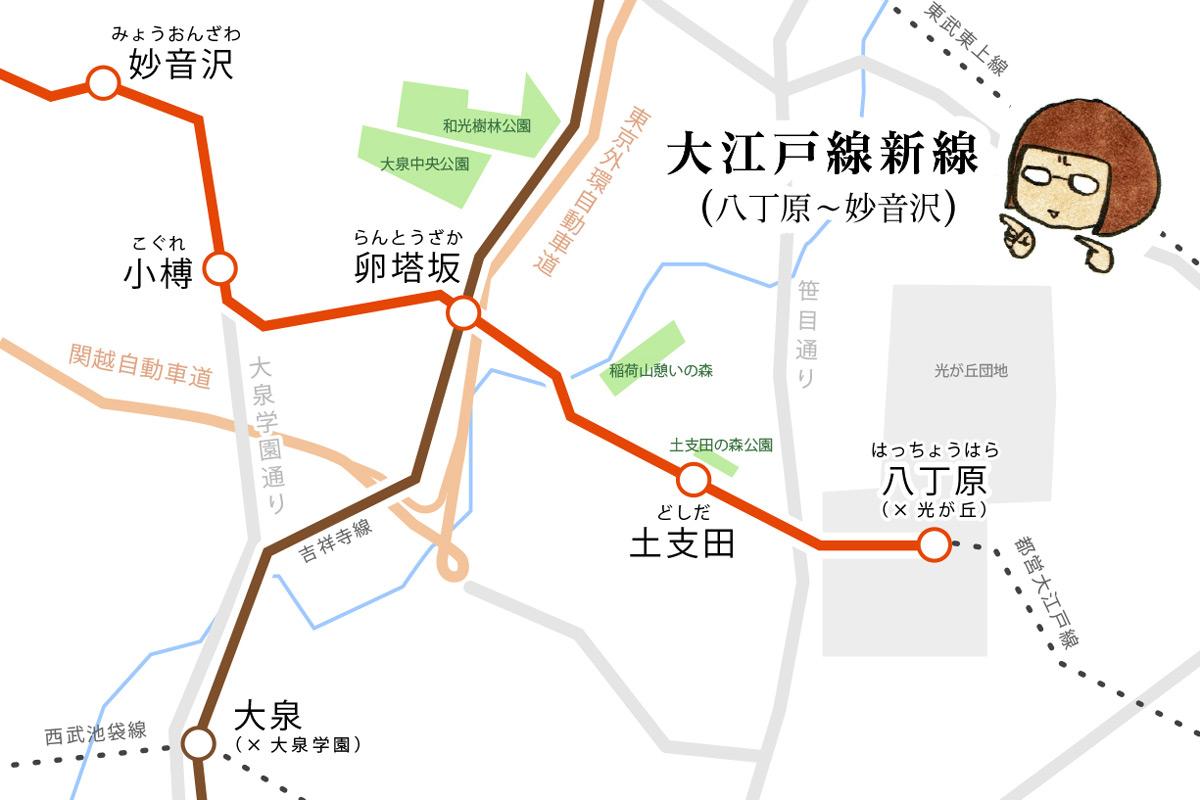 大江戸線新線