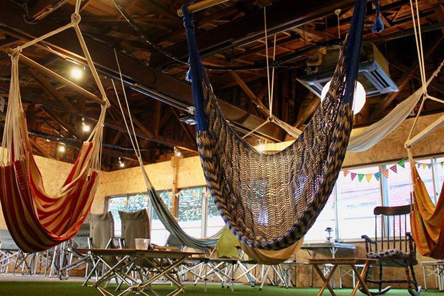 Café hammock 内観