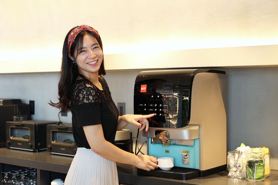 The Millennials Shibuyaコーヒーメーカー