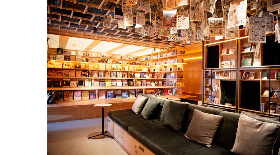 BOOK AND BED TOKYO 新宿店 内観