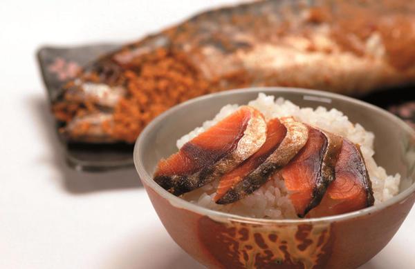 ▲福井県を代表する珍味の鯖の糠漬け「へしこ」