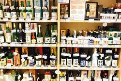 ▲地酒コーナー