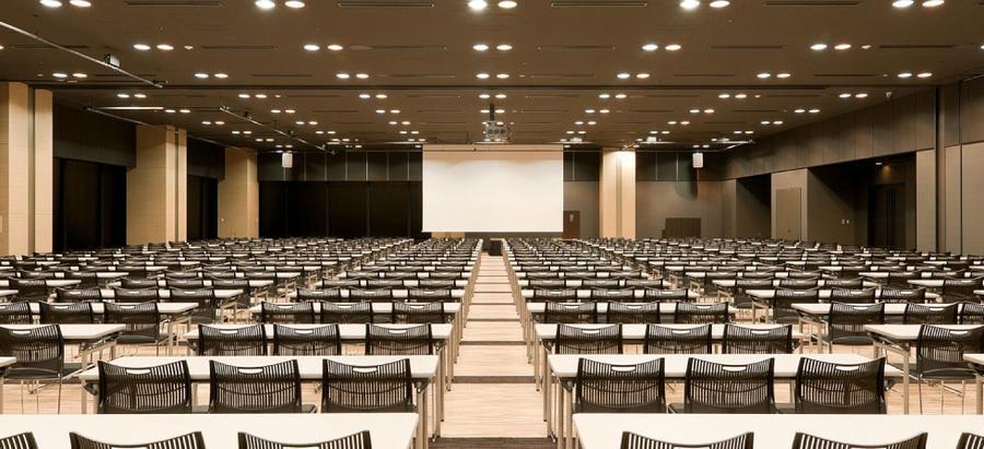 ▲ベルサール羽田空港 イメージ  約700名まで収容可能な大型ホール
