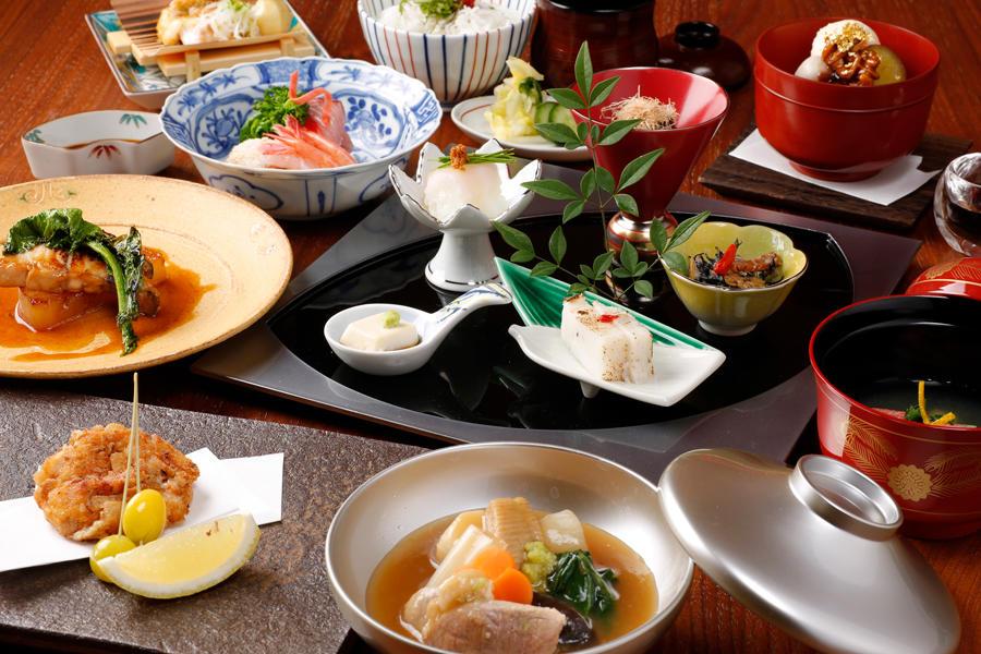▲銀座の金沢 料理「加賀百万石会席」