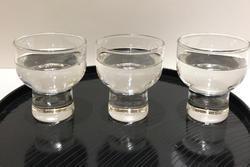 ▲日本酒3種飲み比べ